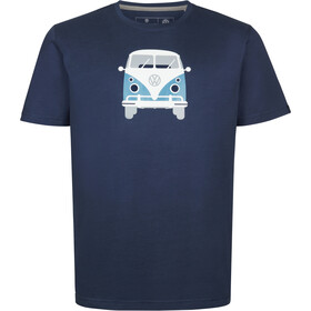 Elkline Methusalem T-shirt Herrer, darkblue